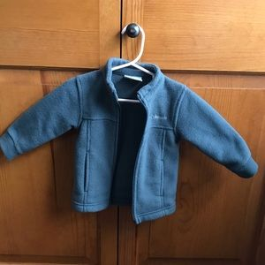 Infant Columbia fleece